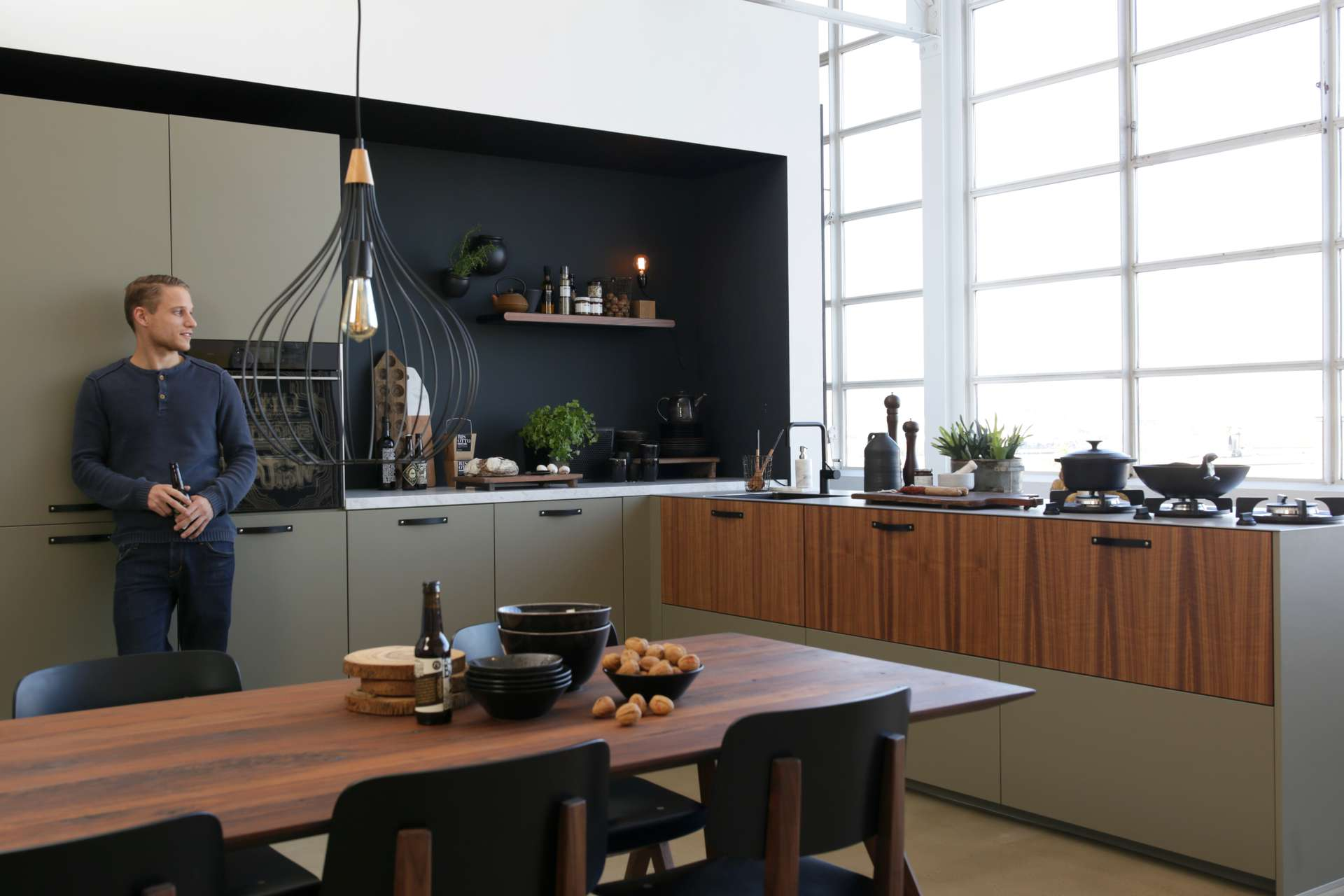 Keukens loods