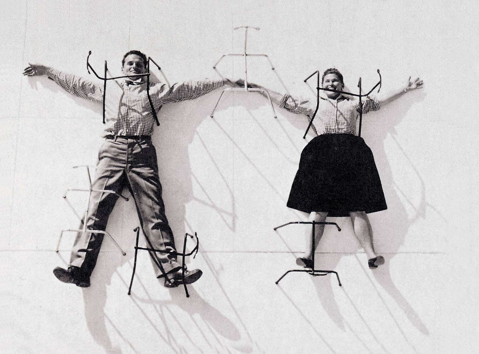 Eames Dsw Stoel : Charles ray eames loods