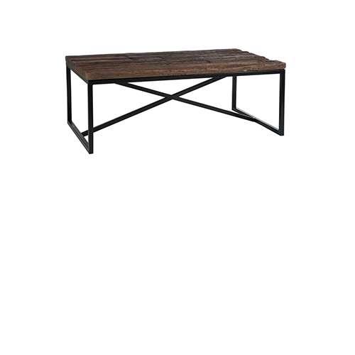 Wonderlijk Salontafel ruw hout/metaal naturel - Producten - Loods 5 OF-78