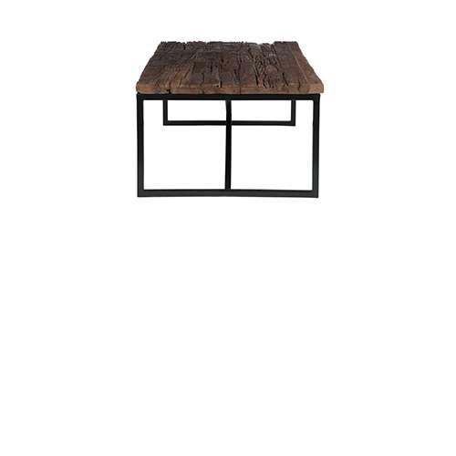Betere Salontafel ruw hout/metaal naturel - Producten - Loods 5 YC-16