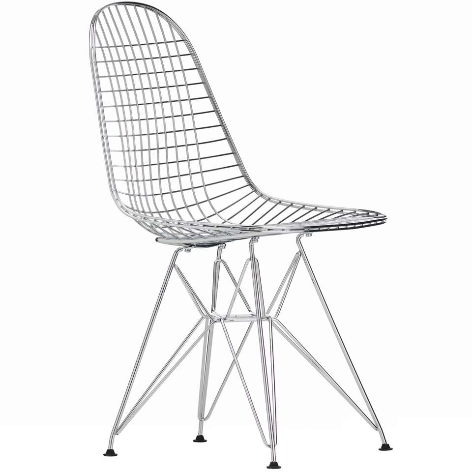 Eames Stoelen Loods 5.Vitra Draadstoel Eames Wire Chair Dkr Stoelen Loods 5