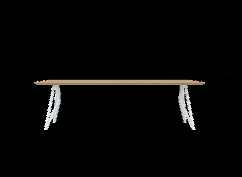 Verwonderend Vlinder Tafel Wit Onderstel - Eettafels - Loods 5 LD-84