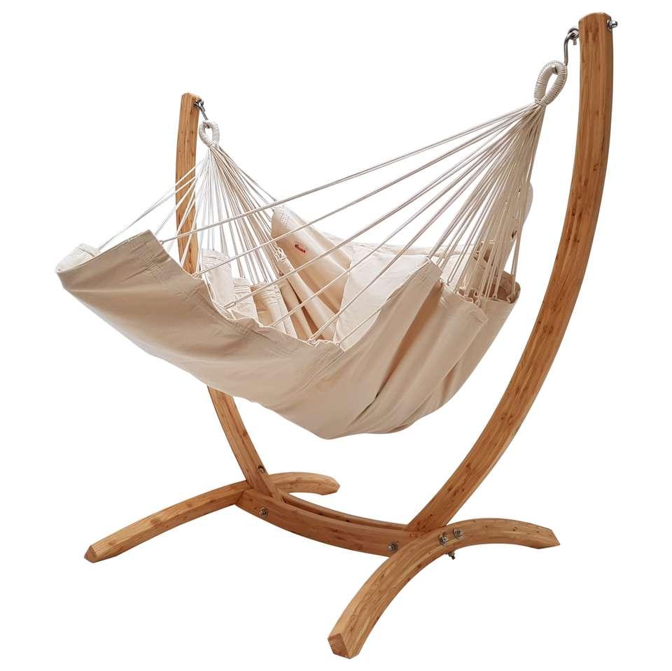 Hangstoel Met Standaard.Hangstoel Lounger Met Arc Standaard Producten Loods 5
