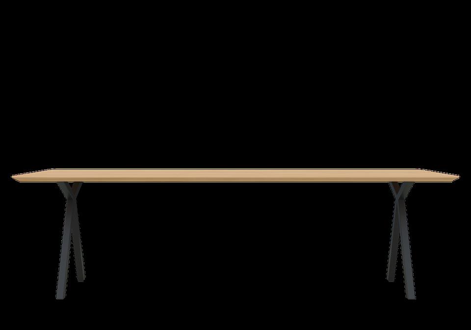 Verwonderlijk Tafel Mr. X zwart onderstel - Eettafels - Loods 5 WL-78