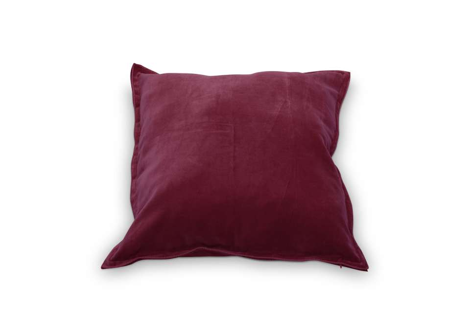 Velvet kussen roze vtwonen by may living and lifestyle