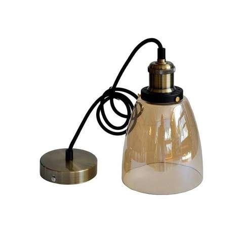hanglamp vintage glas