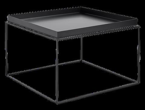 Design salontafel in glas en zwart metaal te koop dehands be