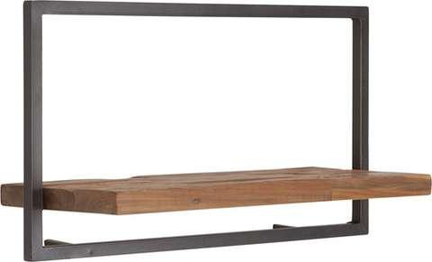 Wandplank Zwart Metaal Hout.Wandplank Online Kopen Loods 5 Original Shopping Loods 5