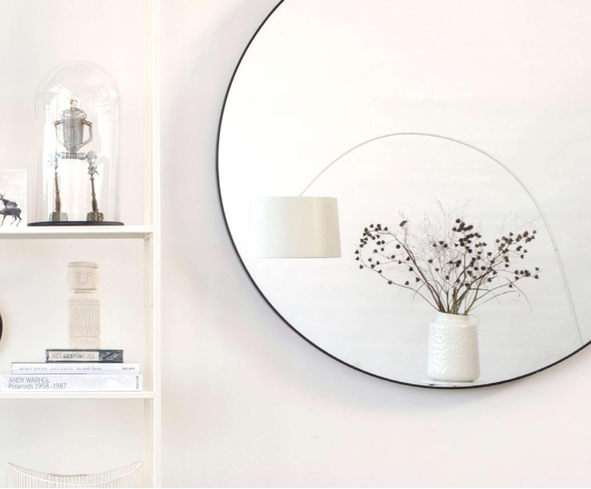 Zwarte Ronde Spiegel : Zwarte producten in de badkamer onze favorieten inspiratie