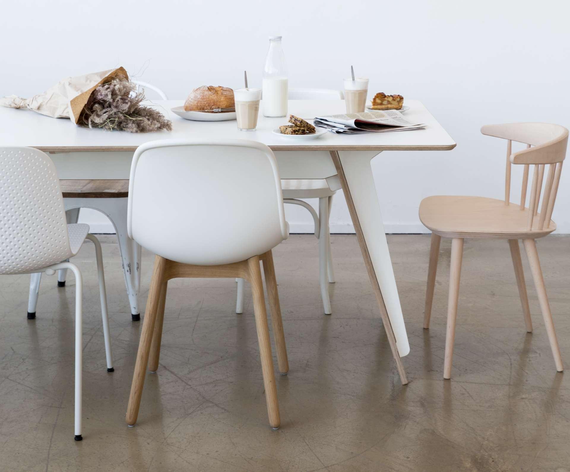 Ronde Witte Eettafel Design.Eettafels Loods 5