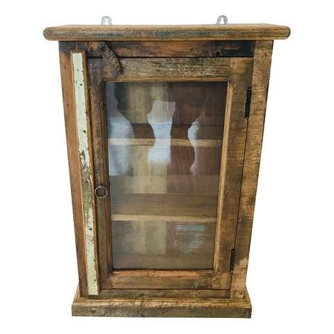 Industriele Kast Met Glas.Wandkasten Loods 5