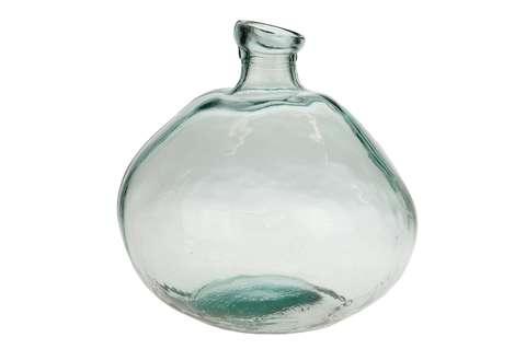 Ronde Bolle Glazen Vaas.Schalen Vazen Loods 5