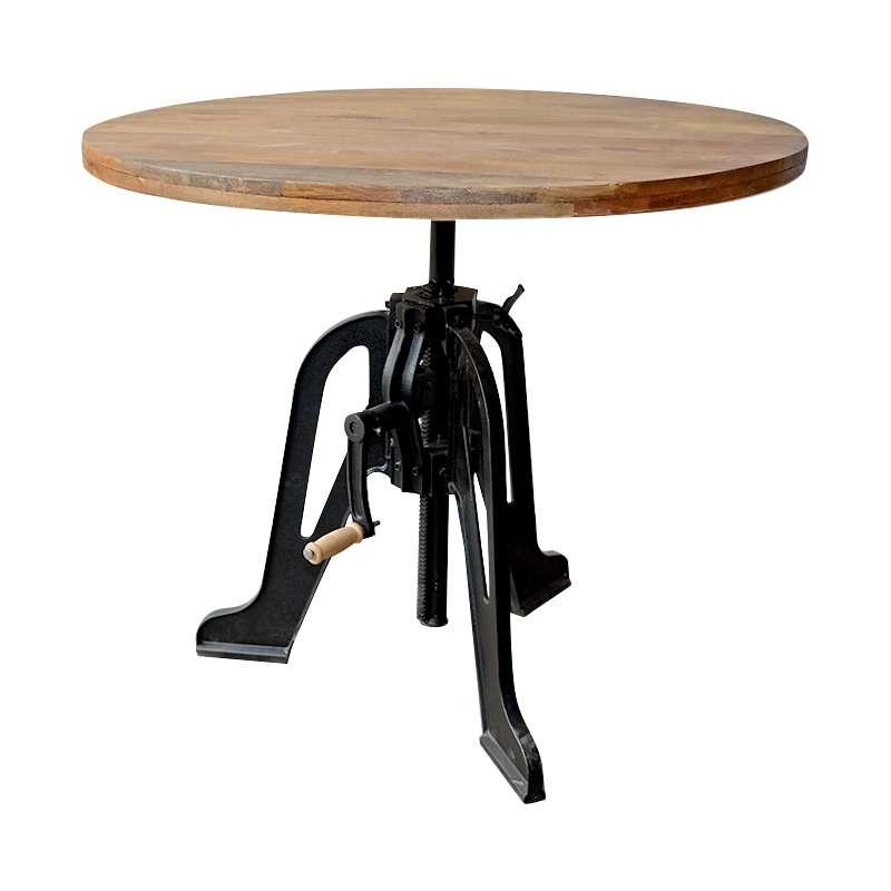 Verwonderend Ronde opdraai tafel - Eettafels - Loods 5 VI-71